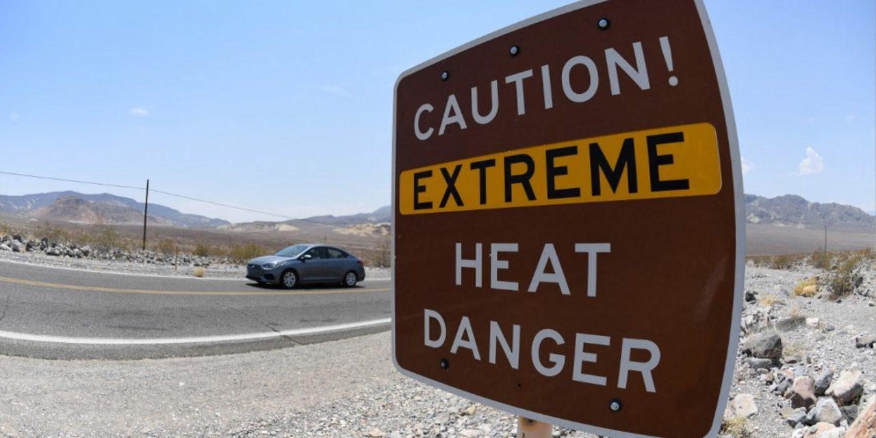 """<span class=""""entry-title-primary"""">Recorde mundial de temperatura média diária nos EUA</span> <span class=""""entry-subtitle"""">NOAA anunciou hoje provável recorde mundial de temperatura média diária em estação do Parque Nacional de Death Valley </span>"""