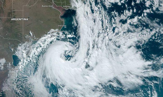 Ciclone trará vento intenso e risco de transtornos