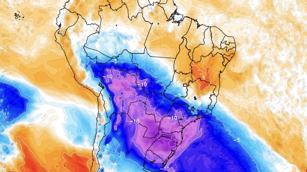 """<span class=""""entry-title-primary"""">Aviso especial de frio muito intenso, neve, geada e congelamento</span> <h2 class=""""entry-subtitle"""">Massa de ar polar de grande intensidade invade o Brasil entre terça e quarta com perspectiva de frio extremo em algumas regiões, neve, geada e geada negra, congelamento e ainda sensação térmica excepcionalmente baixa </h2>"""