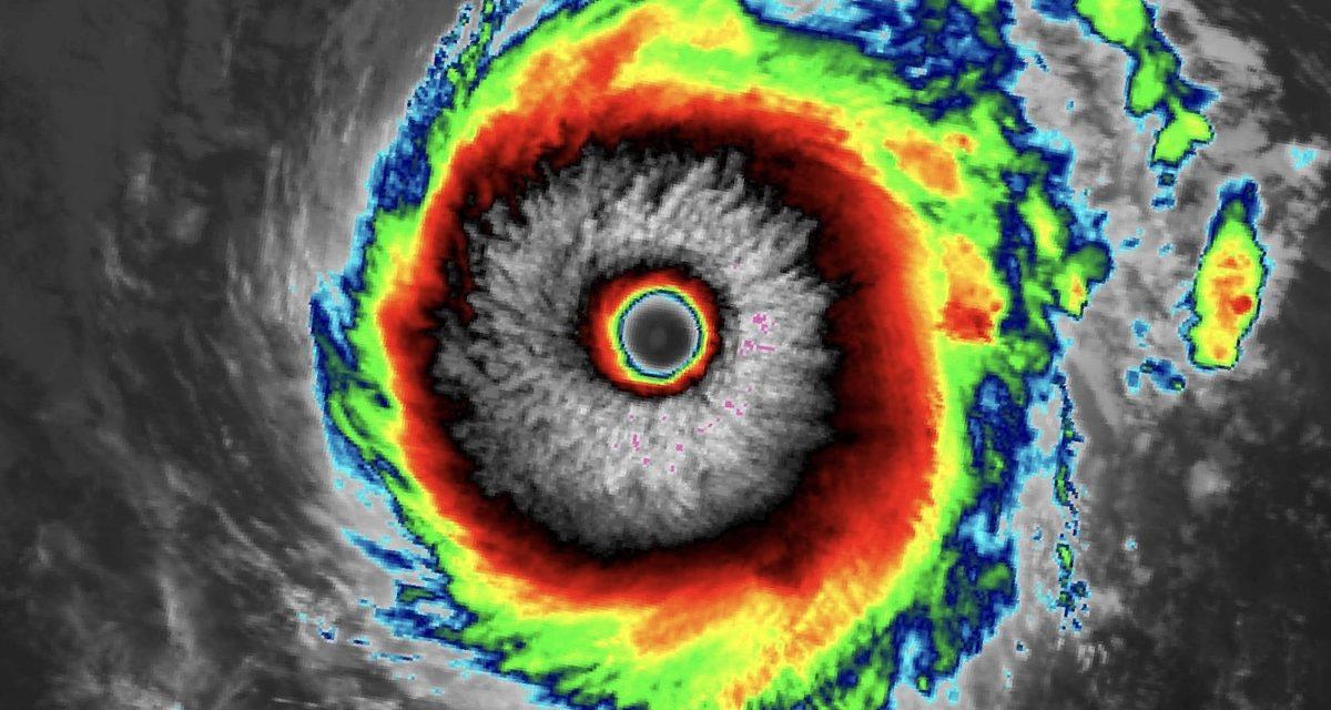 """<span class=""""entry-title-primary"""">O ciclone na costa gaúcha e o furacão categoria 4</span> <h2 class=""""entry-subtitle"""">Dois sistemas de natureza distinta e o pequeno em dimensão era mais forte que o grande</h2>"""