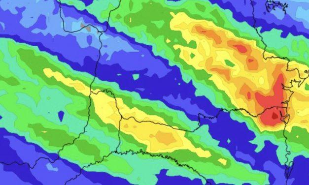 Chuva retorna nesta semana ao Sul, Centro-Oeste e o Sudeste do Brasil