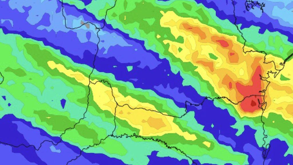 """<span class=""""entry-title-primary"""">Chuva retorna nesta semana ao Sul, Centro-Oeste e o Sudeste do Brasil</span> <span class=""""entry-subtitle"""">Veja o que esperar da chuva nesta semana no Centro-Sul do país</span>"""