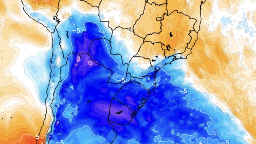 """<span class=""""entry-title-primary"""">Nova massa de ar polar chega ao Brasil nesta semana</span> <h2 class=""""entry-subtitle"""">Queda da temperatura começa pelo Rio Grande do Sul entre terça e quarta-feira com a nova massa de ar polar, mas impacto do ar frio será muito menor que nas recentes incursões polares</h2>"""