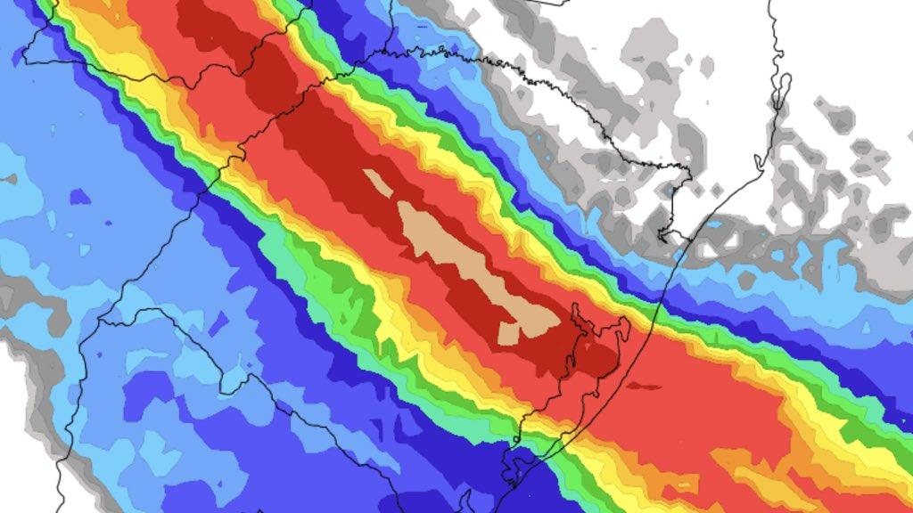 """<span class=""""entry-title-primary"""">Previsão do tempo – Muita chuva e temporais</span> <h2 class=""""entry-subtitle"""">Quarta-feira com altos volumes de chuva, muitos raios e granizo no Rio Grande do Sul </h2>"""