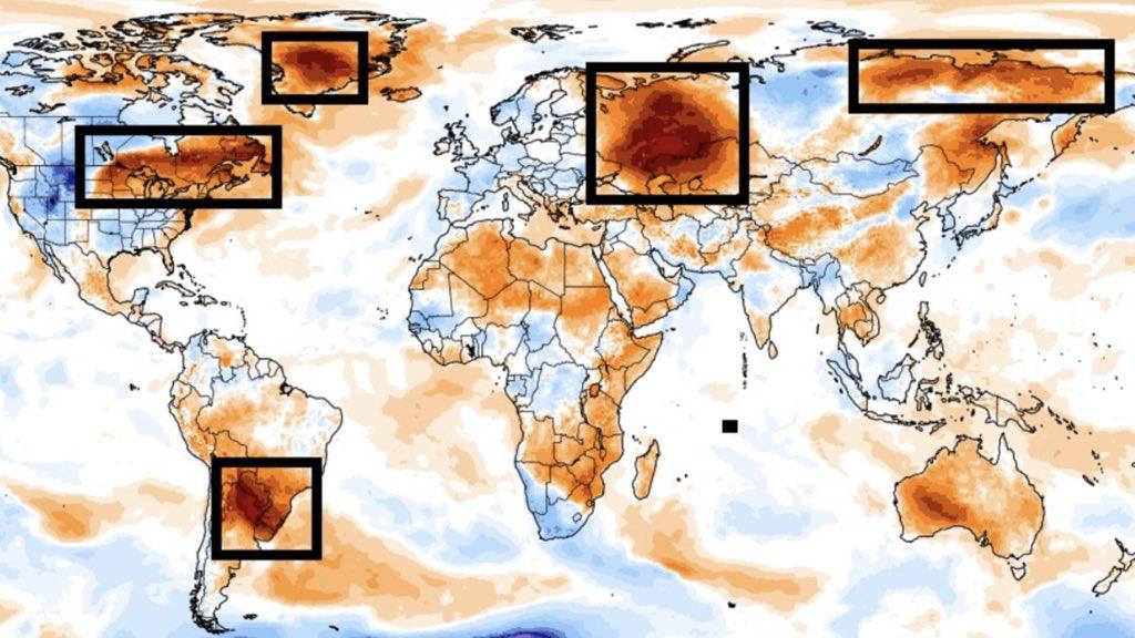 """<span class=""""entry-title-primary"""">Sul do Brasil entre as áreas com temperatura mais acima da média no mundo</span> <h2 class=""""entry-subtitle"""">Poucas áreas do planeta estão com temperatura tão acima do normal nesta quinta-feira como o Sul do Brasil, Nordeste da Argentina e o Paraguai </h2>"""