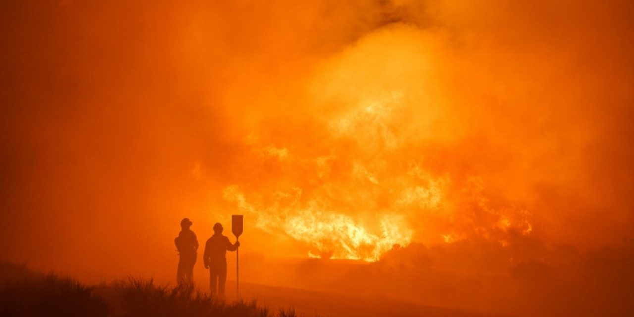 """<span class=""""entry-title-primary"""">Recorde de calor e fogo na Espanha</span> <h2 class=""""entry-subtitle"""">Temperatura atingiu no fim de semana o maior valor já observado até hoje na rede da AEMET com mais de 47°C</h2>"""