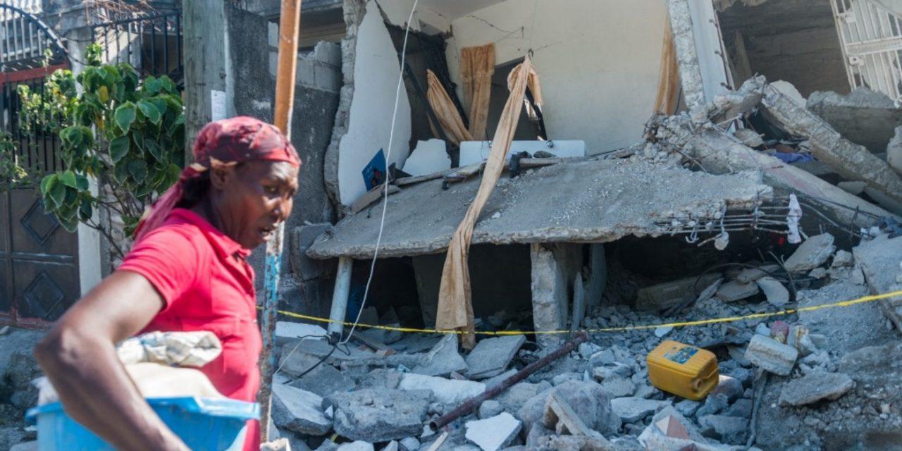 """<span class=""""entry-title-primary"""">Haiti enfrenta ciclone tropical três dias após terremoto arrasador</span> <h2 class=""""entry-subtitle"""">Região mais atingida pelo sismo que deixou mais de mil mortos no Oeste do Haiti vai enfrentar deslizamentos e inundações </h2>"""