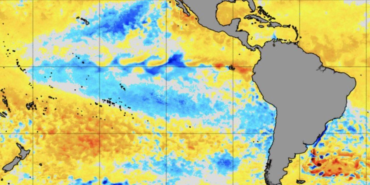 """<span class=""""entry-title-primary"""">La Niña ou neutralidade fria oferecem cenário de risco</span> <h2 class=""""entry-subtitle"""">Tendência é o Pacífico Central seguir mais frio que a média nos próximos meses com prováveis impactos na agricultura e na geração de energia no Sul do Brasil </h2>"""