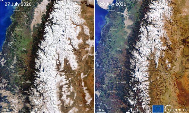 Andes da Argentina têm menor cobertura de neve em até 50 anos