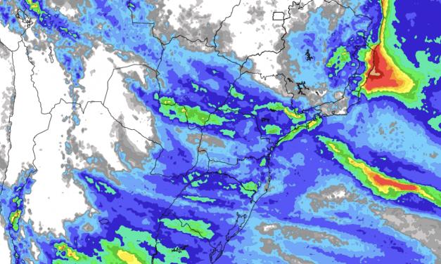 Previsão de chuva – Tendência de sete dias