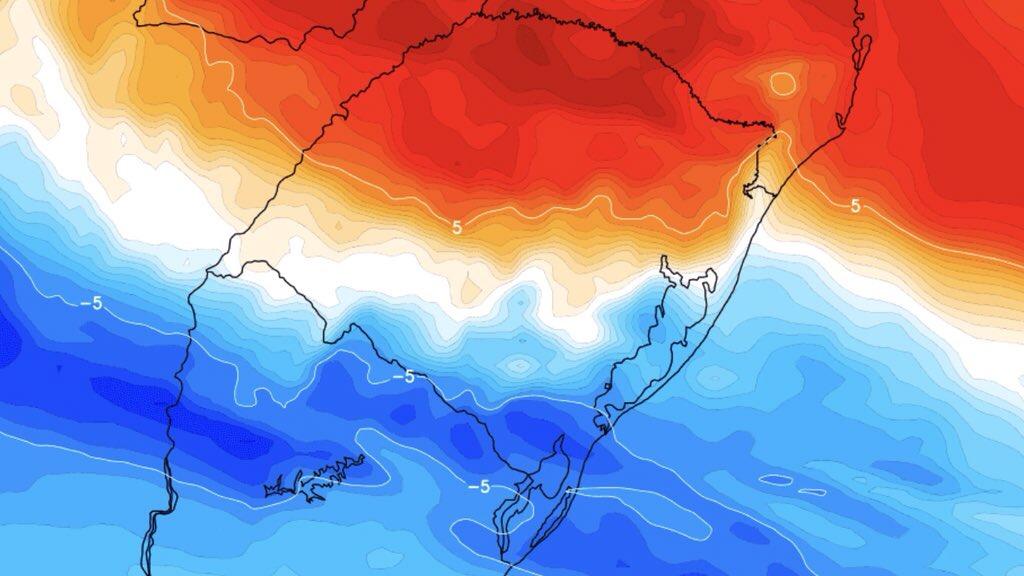"""<span class=""""entry-title-primary"""">Queda de braço térmica traz frio, calor, muita chuva e temporais</span> <h2 class=""""entry-subtitle"""">Gaúchos vão seguir experimentando bruscas mudanças de temperatura e parte do Estado terá muita chuva no duelo entre massas de ar frio e quente. </h2>"""