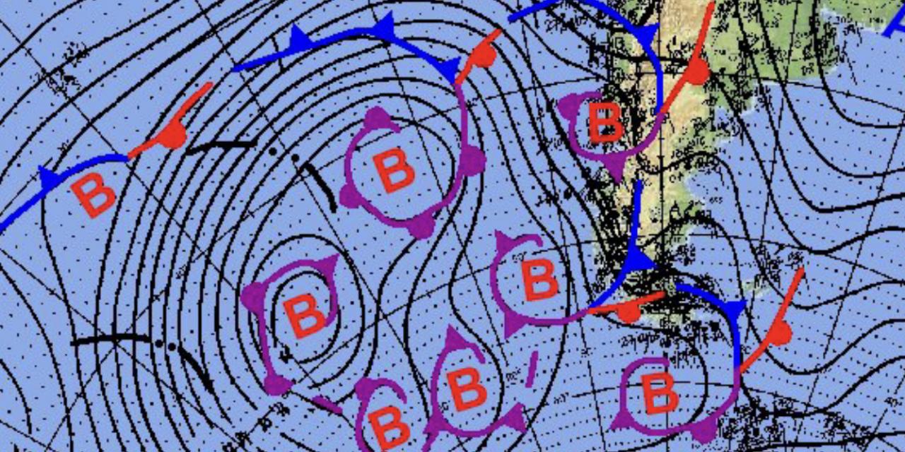 """<span class=""""entry-title-primary"""">Dez centros de baixa pressão ao mesmo tempo</span> <h2 class=""""entry-subtitle"""">Região do extremo Sul do continente é muito tempestuosa e de navegação muito complicada pelas enormes ondas e o vento intenso</h2>"""