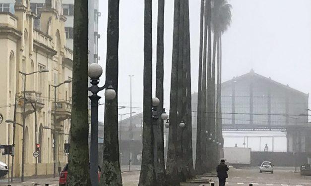 Previsão do tempo para amanhã é de nevoeiro e frio