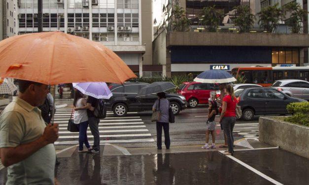 Previsão de chuva e refresco para São Paulo