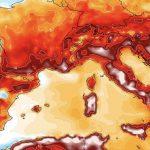 Europa registra maior temperatura da sua história