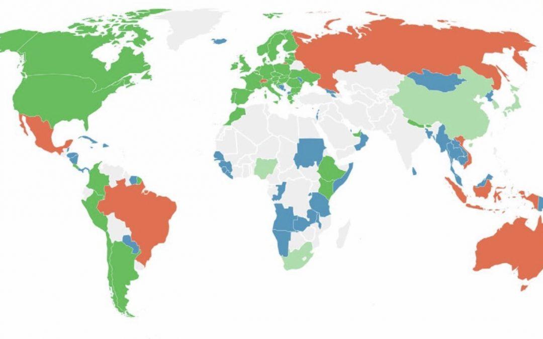 """Brasil recebe """"nota vermelha"""" no clima Mundo fracassa em aumentar suas metas de enfrentamento das mudanças climáticas e o Brasil se soma à lista vermelha do clima"""