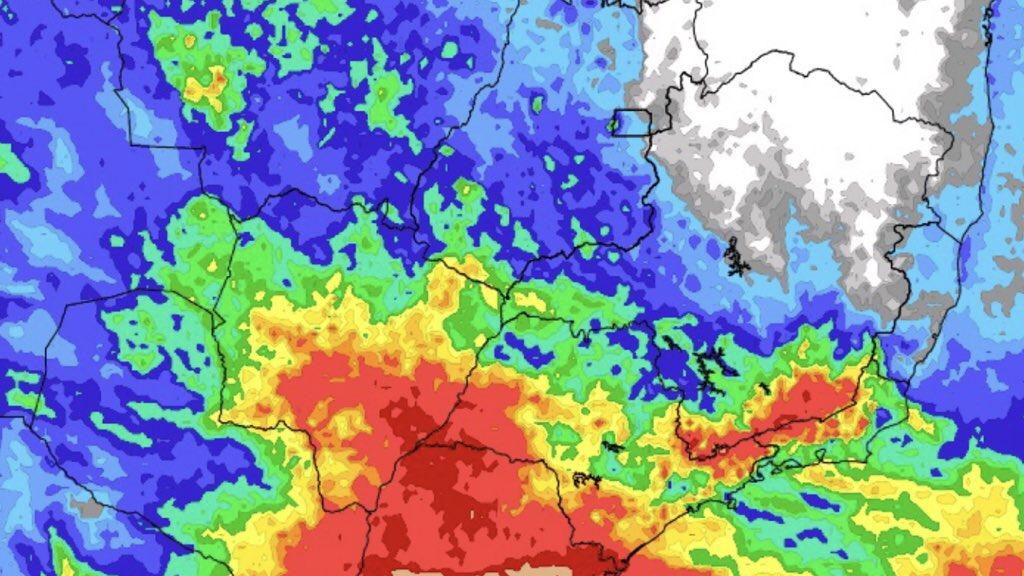 """<span class=""""entry-title-primary"""">Chuva e temporais vão voltar ao Centro-Oeste e o Sudeste do Brasil</span> <h2 class=""""entry-subtitle"""">Chuva e temporais na parte central do Brasil no próximo fim de semana com aumento da instabilidade a partir de sexta com frente fria </h2>"""