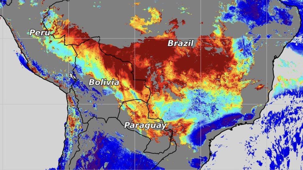 """<span class=""""entry-title-primary"""">Muita fumaça de queimadas sobre o Centro do Brasil</span> <h2 class=""""entry-subtitle"""">Pior situação de queimadas ocorre no estado de Minas Gerais que tem o pior setembro de fogo em uma década </h2>"""