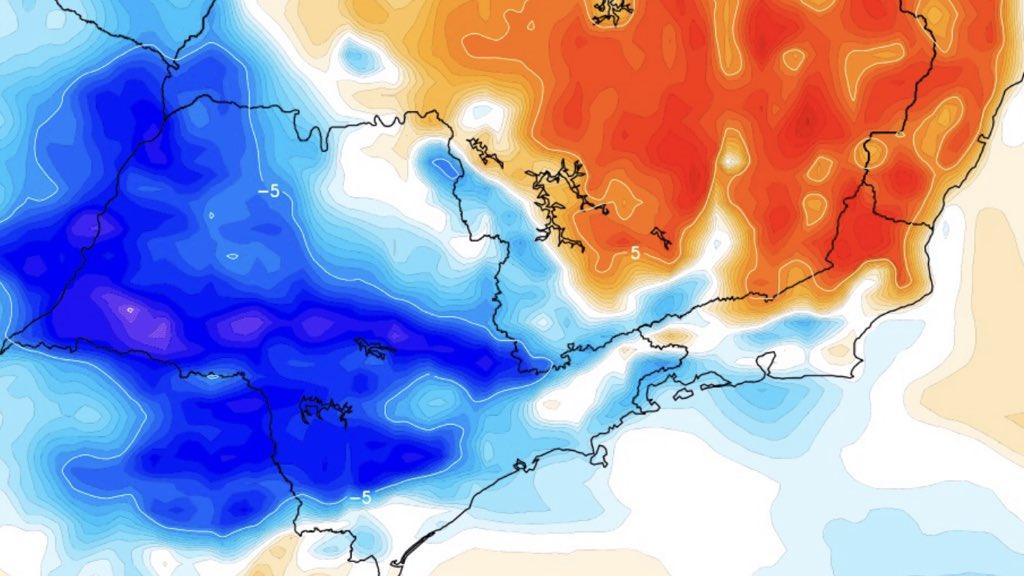 """<span class=""""entry-title-primary"""">São Paulo terá alívio com frente fria após maior calor do ano</span> <h2 class=""""entry-subtitle"""">Tarde de hoje foi a mais quente na média das estações de São Paulo e semana terminará com temperatura menor e chance de chuva</h2>"""