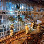 Temporal provocou estragos em Brasília