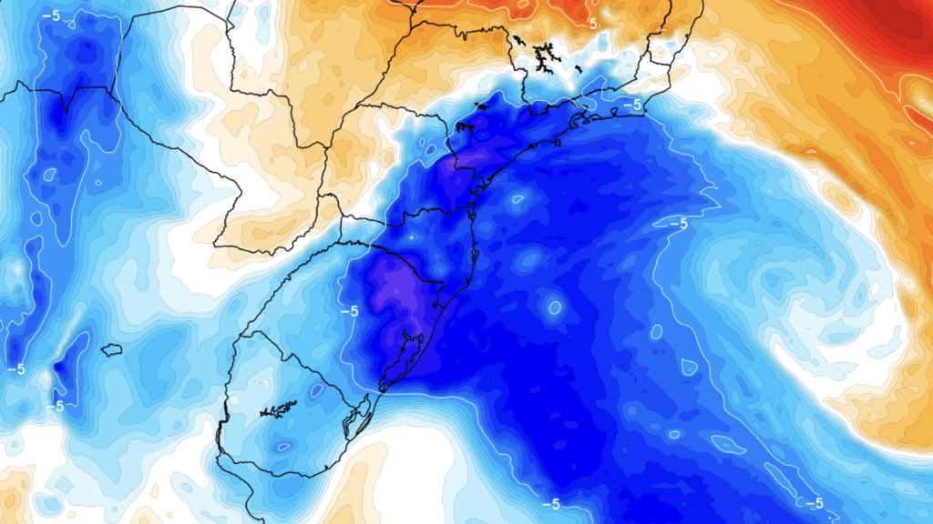 """<span class=""""entry-title-primary"""">Massa de ar frio marcará começo da primavera no Sul e no Sudeste do Brasil</span> <h2 class=""""entry-subtitle"""">Massa de ar frio derruba a temperatura nos três estados do Sul, São Paulo e Rio de Janeiro entre amanhã e a quarta-feira</h2>"""
