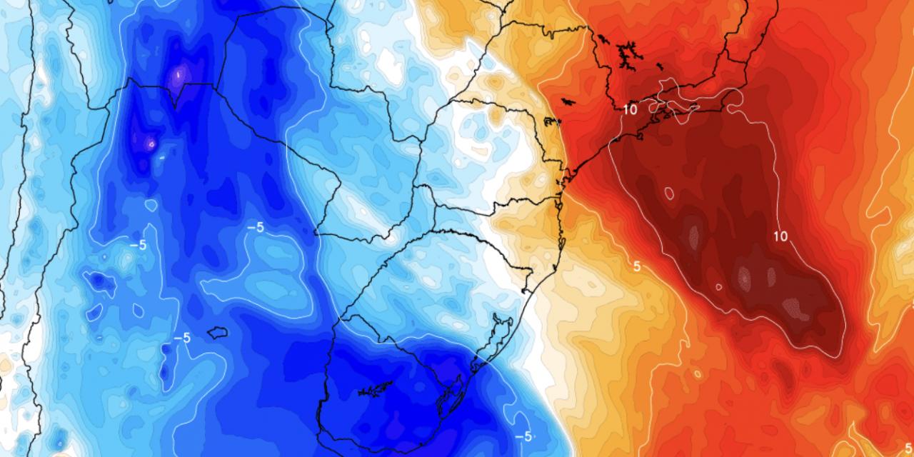 """<span class=""""entry-title-primary"""">Calor de 40ºC no Sudeste e chegada de massa de ar frio ao Sul do Brasil</span> <h2 class=""""entry-subtitle"""">São Paulo e Rio de Janeiro têm uma terça de calor muito intenso, mas depois refresca com ar frio que trará geada no Sul do Brasil </h2>"""