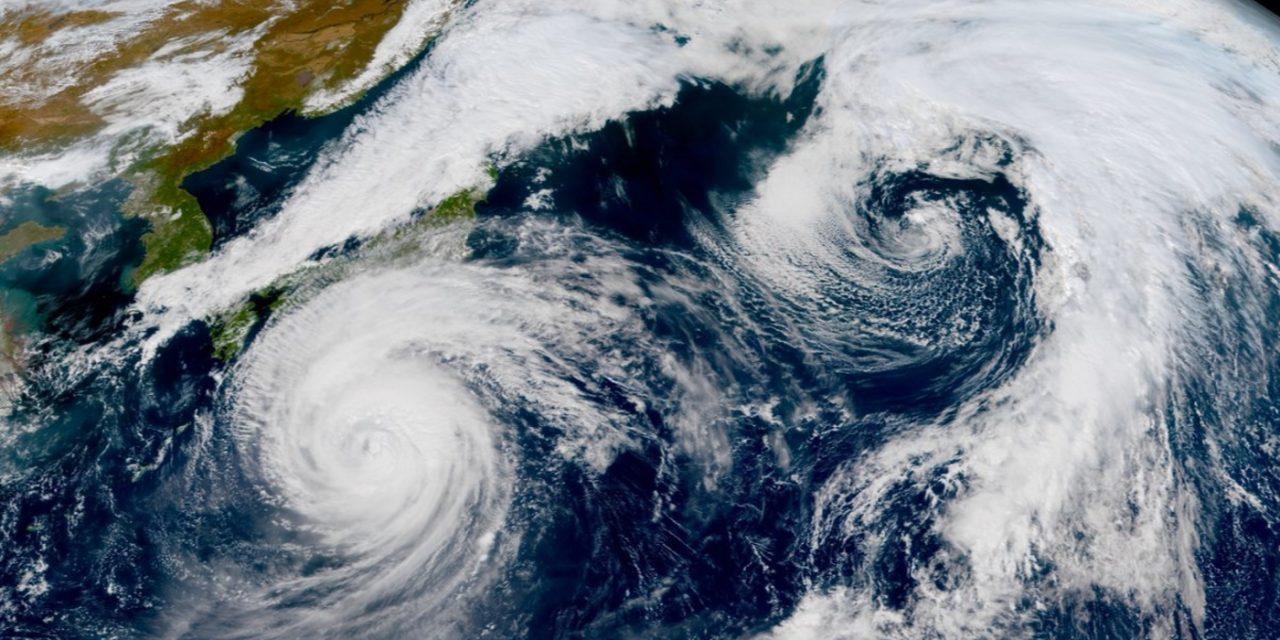 """<span class=""""entry-title-primary"""">Ciclones intensos formam dobradinha no Pacífico Norte</span> <h2 class=""""entry-subtitle"""">Um dos ciclones é o supertufão Mindulle que chegou a ser uma das tempestades mais intensas do ano no planeta</h2>"""