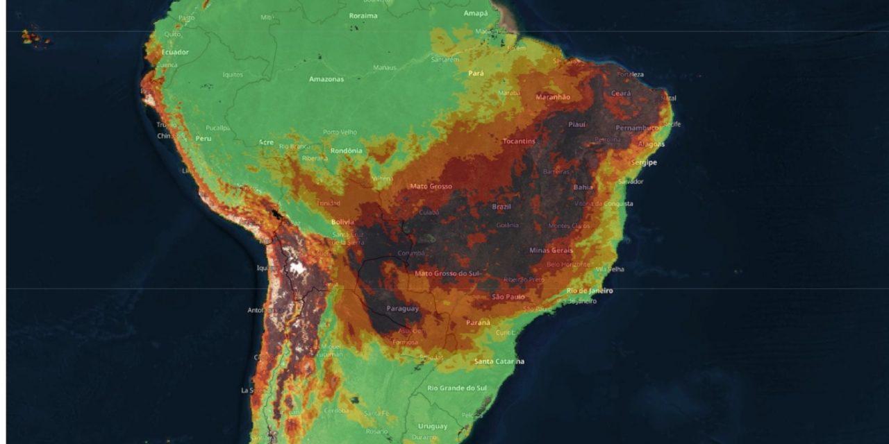 """<span class=""""entry-title-primary"""">Previsão – 7 de setembro muito quente e de fogo no Brasil</span> <h2 class=""""entry-subtitle"""">Feriado pode ser o dia mais quente até agora no ano em pontos do Planalto Central e risco de incêndios será muito elevado a extremo</h2>"""