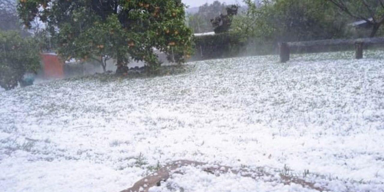 """<span class=""""entry-title-primary"""">Instabilidade ganha força com granizo entre o Uruguai e o Sul do Brasil</span> <h2 class=""""entry-subtitle"""">Risco de temporais é alto nas próximas horas com possibilidade de raios, chuva localmente forte e mais granizo isolado</h2>"""