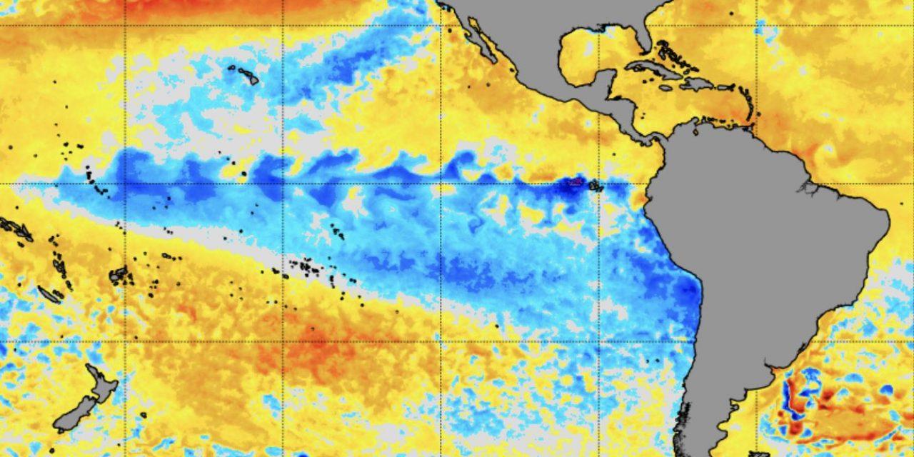 """<span class=""""entry-title-primary"""">NOAA: La Niña deve chegar nas próximas semanas</span> <h2 class=""""entry-subtitle"""">Setembro termina com o Pacífico Equatorial em neutralidade, mas agência norte-americana projeta iminente retorno do fenômeno</h2>"""