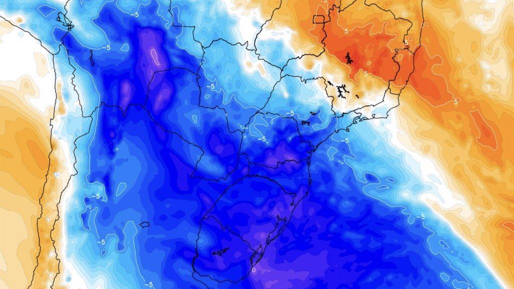 """<span class=""""entry-title-primary"""">Forte massa de ar frio no começo de outubro?</span> <h2 class=""""entry-subtitle"""">Modelos numéricos indicam a possibilidade de uma incursão de ar frio com geada na primeira semana do próximo mês</h2>"""