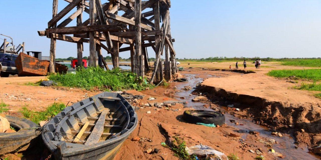 """<span class=""""entry-title-primary"""">Rio Paraguai atinge menor nível da história em Assunção</span> <h2 class=""""entry-subtitle"""">Marca registrada hoje na capital do Paraguai bate o recorde mínimo histórico alcançado em outubro de 2020 com o segundo ano seguido de seca</h2>"""