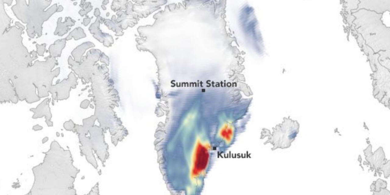 """<span class=""""entry-title-primary"""">O incrível efeito de um fenômeno de clima quente na região mais fria do planeta</span> <h2 class=""""entry-subtitle"""">Verão pode terminar com mais neve do que o normal na Groenlândia em razão de ciclone que era um furacão </h2>"""