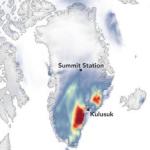 O incrível efeito de um fenômeno de clima quente na região mais fria do planeta