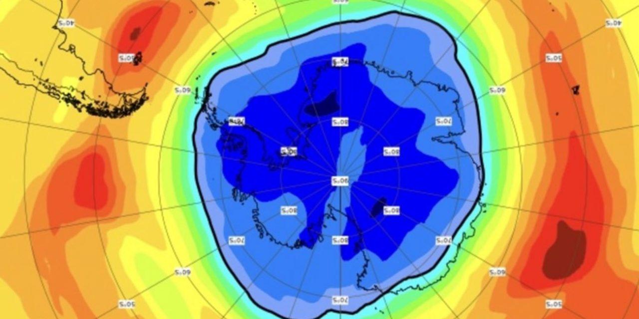 """<span class=""""entry-title-primary"""">Buraco de ozônio de 2021 já é maior que a Antártida</span> <h2 class=""""entry-subtitle"""">Buraco de ozônio deste ano repete a tendência de 2020 e apresenta dimensão maior do que o normal no Sul do planeta</h2>"""