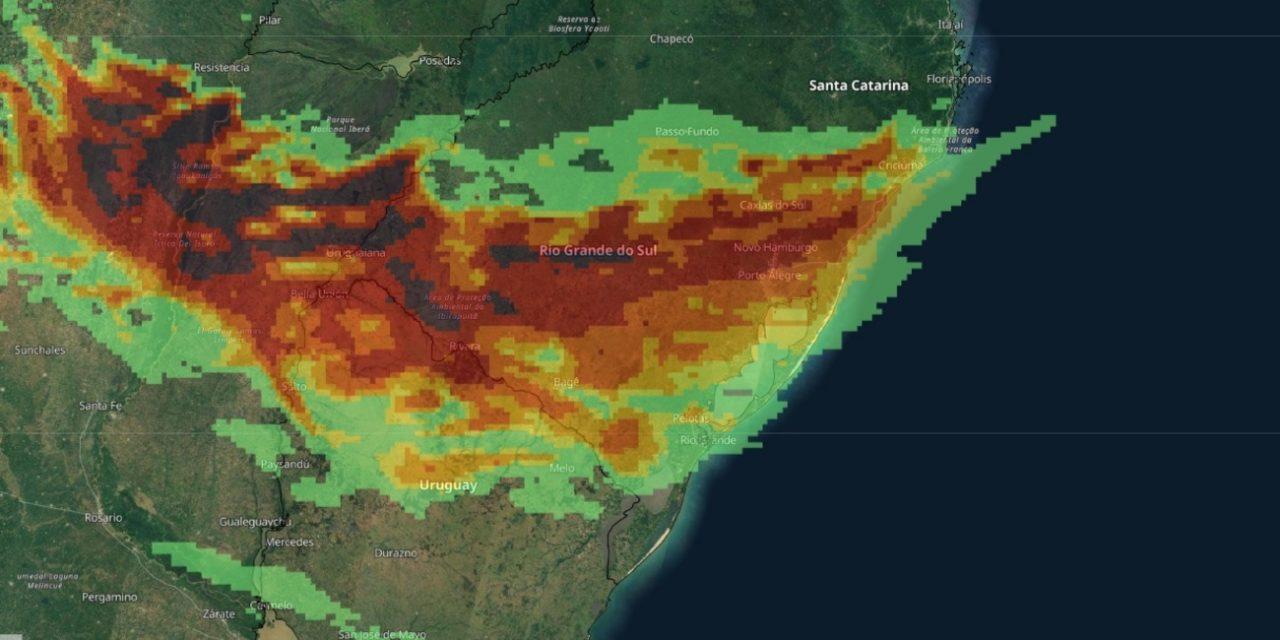 """<span class=""""entry-title-primary"""">Rio Grande do Sul será uma das áreas com mais raios no mundo no 7 de setembro</span> <h2 class=""""entry-subtitle"""">Terça-feira será de intensa instabilidade em parte ou grande parte do dia no Oeste, no Centro, Sul e o Leste gaúcho com muita chuva e raios</h2>"""