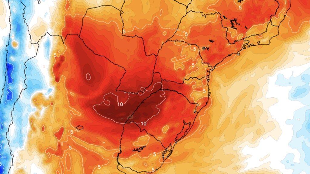 """<span class=""""entry-title-primary"""">Calor de quase 40ºC nos três estados do Sul do Brasil</span> <h2 class=""""entry-subtitle"""">Rio Grande do Sul, Santa Catarina e Paraná começam a semana sob influência de ar muito quente e máximas elevadas </h2>"""