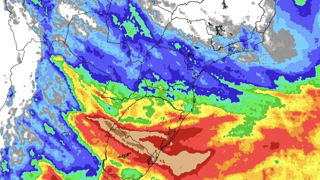 """<span class=""""entry-title-primary"""">Previsão do tempo – Tendência de chuva no Brasil para sete dias (4/9)</span> <h2 class=""""entry-subtitle"""">Sul do país deve concentrar os maiores volumes de chuva nos próximos sete dias com altos acumulados em parte da região </h2>"""