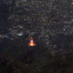A erupção do vulcão em La Palma vista do espaço