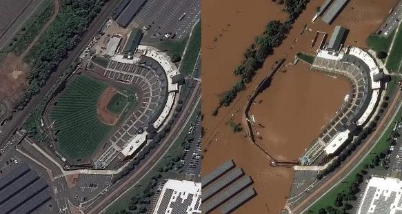 """<span class=""""entry-title-primary"""">Imagens de satélite mostram o antes e depois das inundações nos Estados Unidos</span> <h2 class=""""entry-subtitle"""">Imagens de satélite divulgadas pela empresa Maxar Technologies mostram a extensão das inundações no Nordeste dos Estados Unidos</h2>"""