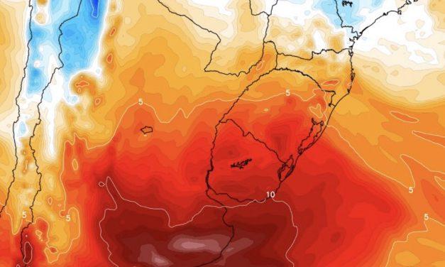 Ar quente toma conta do Cone Sul e traz calor de verão