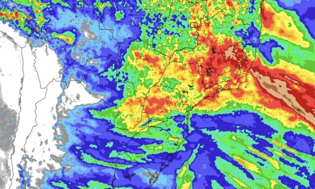 Previsão do tempo – Tendência de chuva para sete dias (19/10/2021)