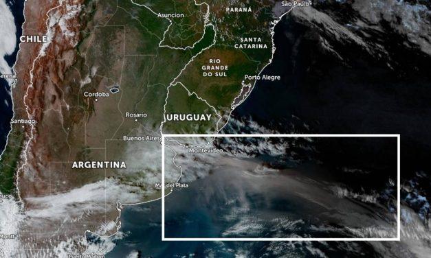 Nuvem de poeira da Patagônia chegará à costa do Sul do Brasil