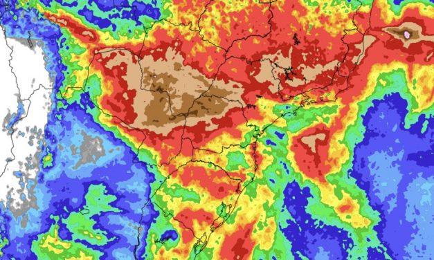 Previsão do tempo – Tendência de chuva para sete dias (9/10/2021)